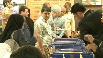 RTL Nieuws Hoge opkomst bij presidentsverkiezing Iran