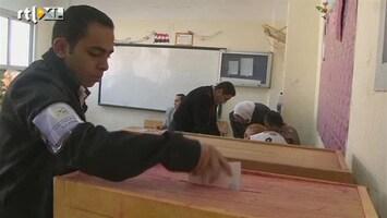 RTL Nieuws Egypte: Dringen om te stemmen
