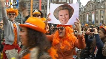 RTL Nieuws Oranjefans op Dam: 'het was geweldig'