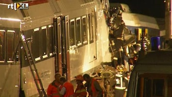 RTL Nieuws Groot treinongeluk in Zwitserland