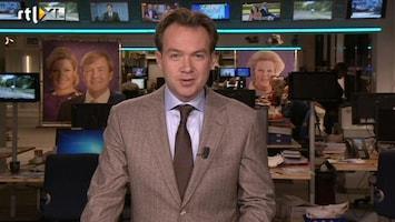 RTL Nieuws Sobere maar feestelijk huldiging