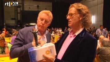 RTL Boulevard André Rieu krijgt miniatuurversie