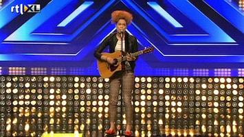 X Factor - Nicole Blaast Ali Helemaal Weg!