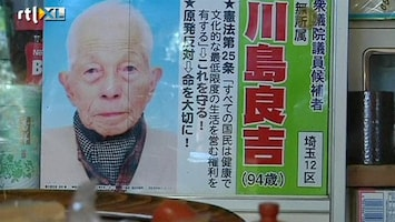RTL Nieuws 94-jarige kandidaat premier Japan