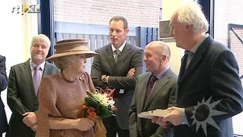 RTL Boulevard Koningin bij opening Baarnsch Lyceum