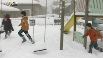 RTL Nieuws 29 April: Het sneeuwt in Spanje