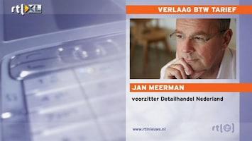 RTL Nieuws 'Door btw-verlaging zal consument meer gaan kopen'