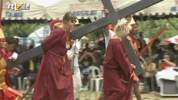 RTL Nieuws Britt en Ymke in voetsporen Jezus