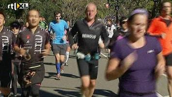 RTL Nieuws Marathonlopers schieten New York te hulp