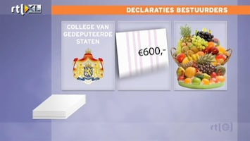 RTL Nieuws Opmerkelijk declareergedrag onderzocht (rectificatie)