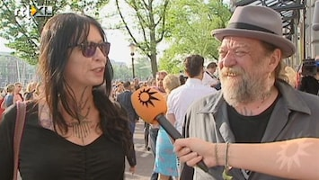 RTL Boulevard Louise Schiffmacher geniet driedubbel en dwars