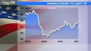 RTL Z Nieuws Handelstekort VS stijgt weer naar crisisniveau
