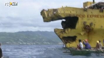 RTL Nieuws Nog 170 mensen vermist na scheepsramp Filipijnen