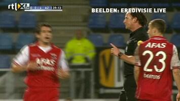 RTL Nieuws Bekerduel Den Bosch-AZ twee keer gestaakt