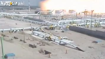 RTL Nieuws In beeld: enorme explosie raffinaderij