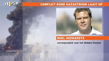 RTL Nieuws 'Politiek Israël speelt grote rol in oplaaien strijd Gaza'