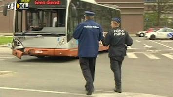 RTL Nieuws Extra beveiliging ov in Brussel