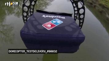 Editie NL Pizza bezorgen per drone