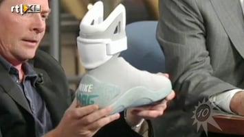 RTL Boulevard Michael J. Fox presenteert Back2theFuture schoen