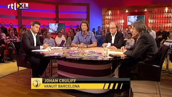RTL Nieuws Cruijff in VI over vermeend racisme