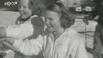 RTL Boulevard Jonge prinses Beatrix op de ski's