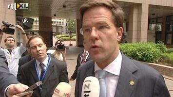 RTL Nieuws Rutte: geen paracetamol voor crisislanden