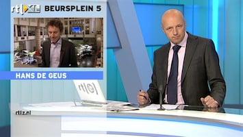 RTL Z Nieuws 10:00 Winst BP daalt; 'dure olie maakt krimp niet goed'