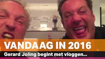 Vandaag in 2016: Joling begint met vloggen