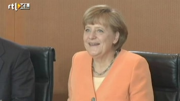 Editie NL Cool! Merkel steunt oranje!