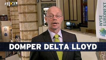 RTL Z Voorbeurs Corné: al met al geen goede cijfers Delta Lloyd