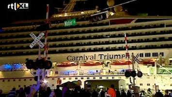 RTL Nieuws 'Nachtmerrie-cruise' weer terug in haven