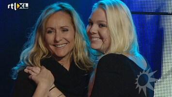 RTL Boulevard Angela zingt duet met dochter Ria Brieffies