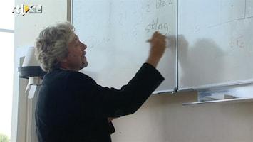 RTL Nieuws Leraren voortgezet onderwijs voeren actie