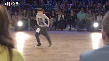 So You Think You Can Dance - The Next Generation - Dansend Door De Klas - Auditie Quintin
