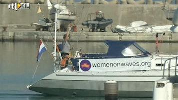 RTL Nieuws Abortusboot in Marokko is een echte publiciteitsstunt