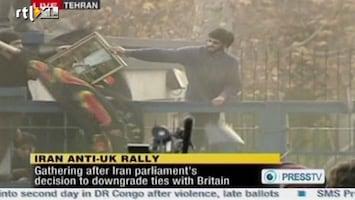 RTL Nieuws Britse ambassade Teheran bestromd