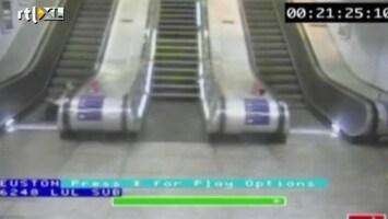 Editie NL Fail! Vrouwen onderuit op roltrap