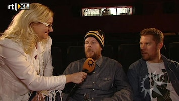 RTL Boulevard Corry Koning interviewt New Kids!