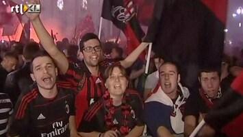 RTL Nieuws Milanezen massaal de straat op