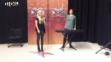 RTL Boulevard Britt en Ymke spelen auditietje