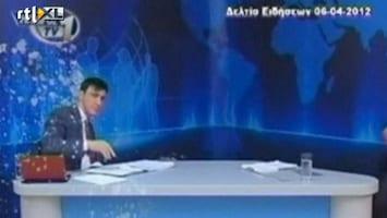 Editie NL Zielig: tv-presentator bekogeld