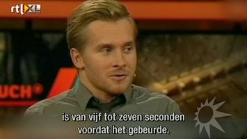 RTL Boulevard Wetten Das-kandidaat over ongeluk