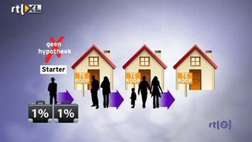 RTL Nieuws Nieuw plan om huizenmarkt uit het slob te trekken
