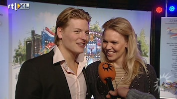 RTL Boulevard Thomas Berge en Myrthe Mylius over zwangerschap
