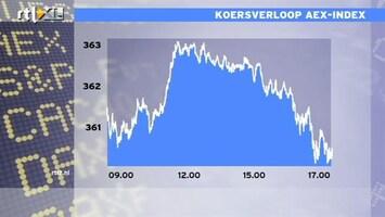RTL Z Nieuws 17:00 AEX omlaag op tekort handelsbalans VS