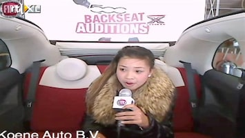 X Factor Fiat 500 Backseat Auditions: Iris