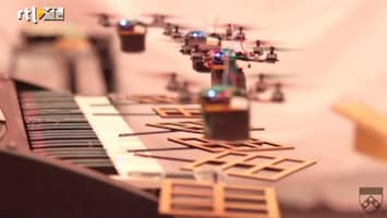 Editie NL Zwevende robotten maken muziek