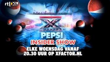 X Factor Pepsi Insider Show: promo