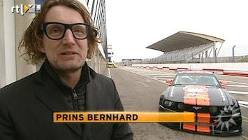 RTL Boulevard Prins Bernhard racet met The Stig