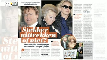 RTL Boulevard Is er onenigheid over prins Friso?